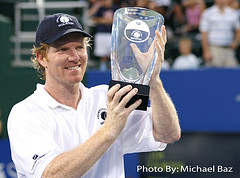 jim courier wins champions cup houston