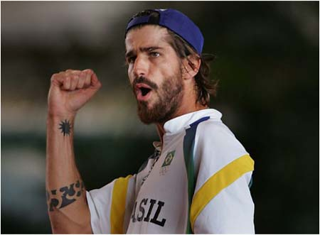 tattoo watch: saretta's forearm (davis cup)