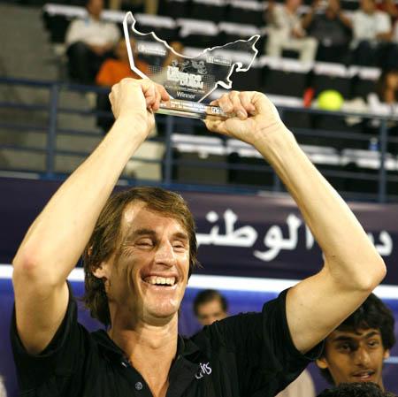 paul haarhuis - dubai - trophy 2007