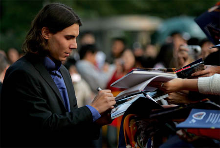 Rafael Nadal - Tennis Masters Cup 2007