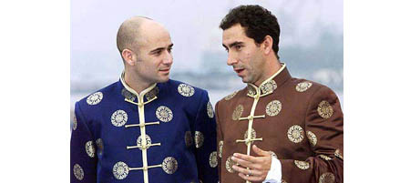andre agassi and alberto costa