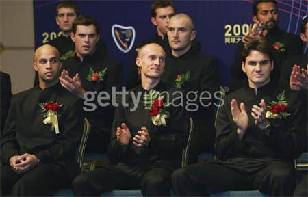 Top 8 men of 2006