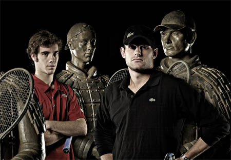 Richard Gasquet and Andy Roddick