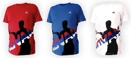 adidas' Novak Djokovic line,2008