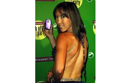 Jelena Jankovic - Sony Ericsson Players Party2008