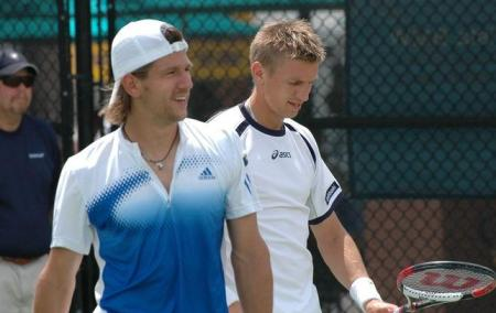 Jurgen Melzer - Jarko Nieminen - BMW Tennis Championships2008