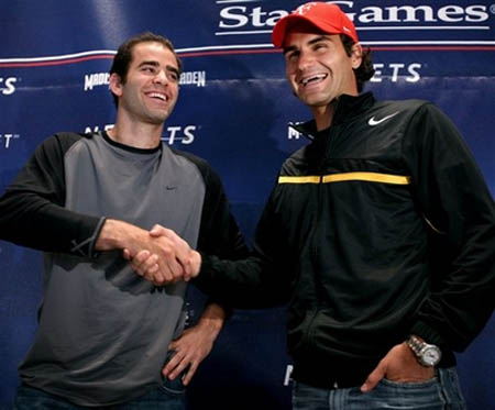 Pete Sampras - Roger Federer - Press Conference