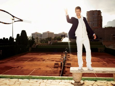Novak Djokovic - Men's Vogue - April 2008
