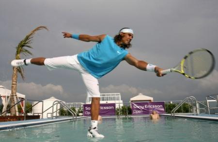 Rafael Nadal - Sony Ericsson Open - Hotel Gansevoort 2008