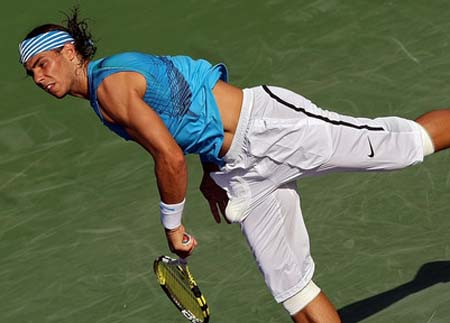 rafael nadal sony ericsson open tournament