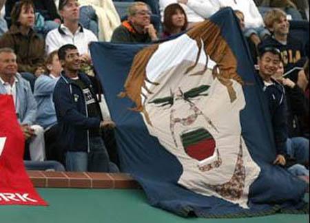 Roger Federer - Indian Wells - banner
