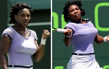 Serena Williams - Sony Ericsson Open2008