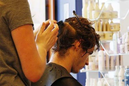 Andy Murray haircut