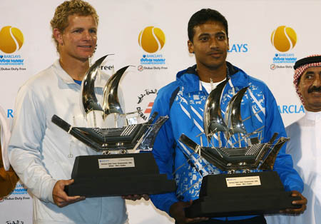 Mark Knowles, Mahesh Bhupathi, Dubai 2008