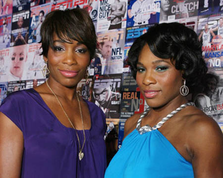 Venus and Serena - Area - ESPN the magazine