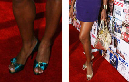 Venus and Serena - Area - ESPN the magazine - shoes
