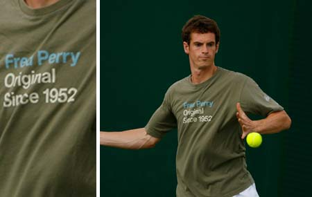andy murray queens trophy. Andy Murray steps up with some