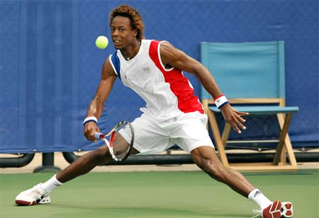 gael monfils shirtless. …this tank on Gael Monfils…