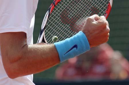 tennis nike wristbands