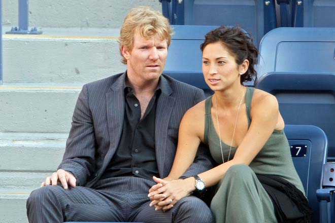 Image result for jim courier and wife