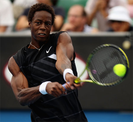 gael monfils shirtless. the likes of Gael Monfils