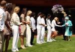 Queen Elizabeth II - Andy Roddick - Wimbledon 2010