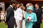 Roger Federer - Queen Elizabeth II - Wimbledon 2010