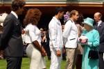 Andy Roddick - Wimbledon 2010 - Queen Elizabeth II