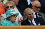 Queen Elizabeth - Tim Phillips - Wimbledon 2010