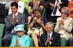 Queen Elizabeth II - Tim Henman - Wimbledon 2010