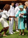 Serena Williams - Queen Elizabeth II - Wimbledon 2010