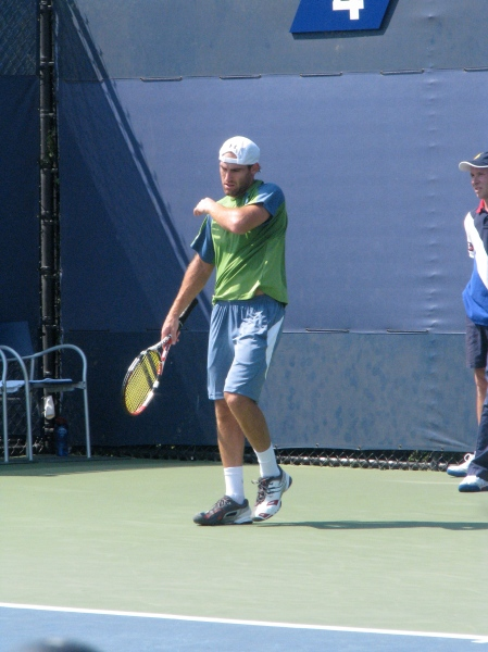 Robby at the 2010 US Open