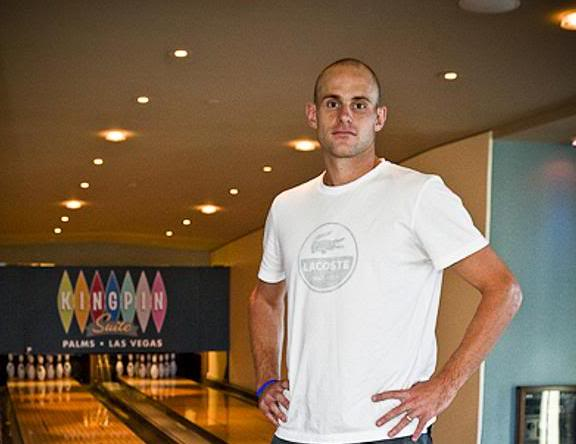 andy roddick balding. The Almost-Bald Andy Roddick:
