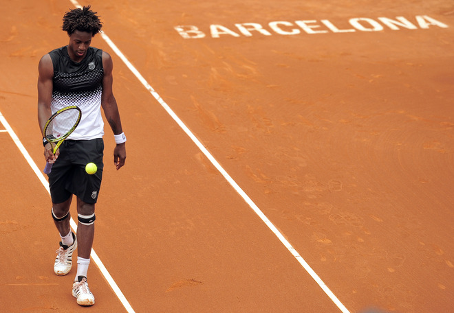 gael monfils hot. Gael Monfils became the latest