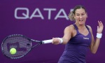 Israeli tennis player Shahar Peer return