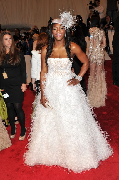 Tennis served fresh tennis fashion style design and for Serena williams wedding dress